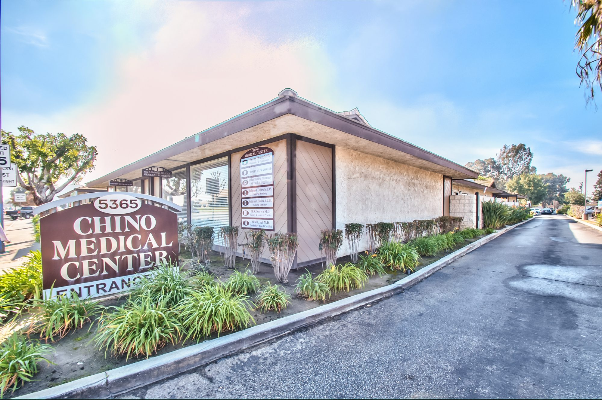 FOR LEASE: CHINO MEDICAL OFFICE