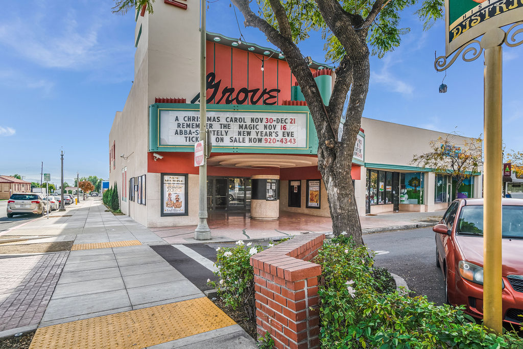 FOR SALE: THE GROVE THEATER