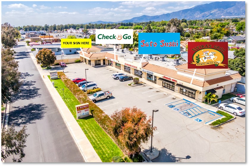 FOR LEASE: RETAIL SUITE ON FOOTHILL BLVD